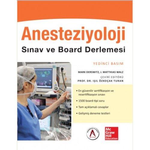 Anesteziyoloji Sınav ve Board Derlemesi