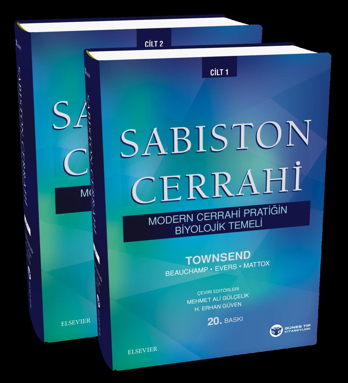 SABİSTON CERRAHİ - MODERN CERRAHİ PRATİĞİN BİYOLOJİK TEMELİ