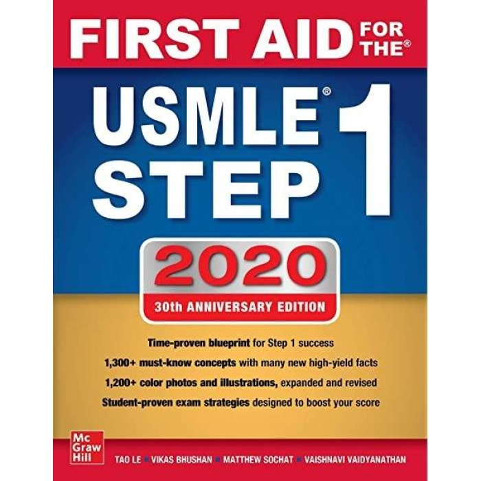 FİRST AİD FOR THE USMLE STEP 1 2020,